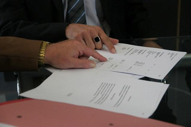 Акт выполненных работ: бланк и образец составления